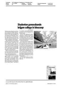 2008_342_Education-Center-Erasmus-University-Medical-Center-Rotterdam_AD-Rotterdams-Dagblad_1120